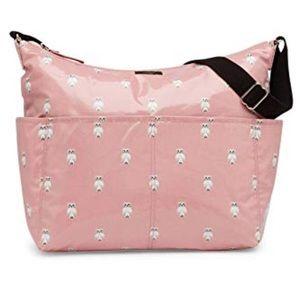Kate Spade Pink Owl diaper bag